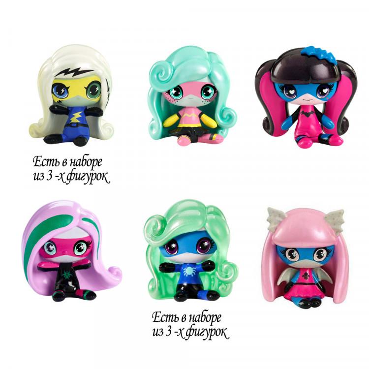 Минифигурки супергерои в коробочке (в ассорт) Minis Power Ghouls in box