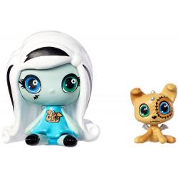 Мініфігурка Френкі Штейн з вихованцем Minis Frankie Stein Doll & Watzit Pet