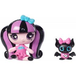 Мініфігурка Дракулаура з вихованцем Minis Draculaura Doll & Count Fabulous Pet