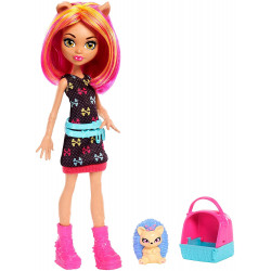 Хоулин Вульф Семья монстров Howleen Wolf Monster Family Fashion Doll & Pet Hedgehog