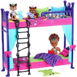 Игровой набор Кровать и семья Вульф Monster High Monster Family Wolf Bunk Bed Playset and Dolls