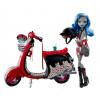 Кукла Гулия Йелпс и скутер Монстер Хай Ghoulia Yelps Scooter and Doll Monster High