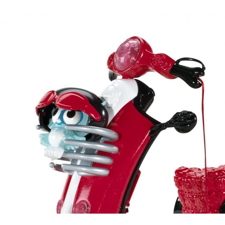 Лялька Гулія Йелпс та скутер Монстер Хай Ghoulia Yelps Scooter and Doll Monster High